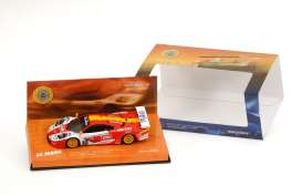 McLaren  - 1998 red/white/orange - 1:43 - Minichamps - 533184340 - mc533184340 | Toms Modelautos