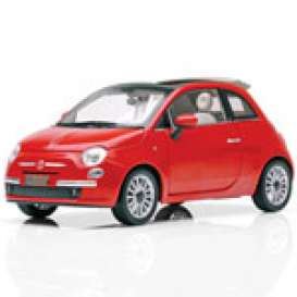 Fiat  - 2009 pearl red - 1:18 - Norev - 187750 - nor187750 | Toms Modelautos