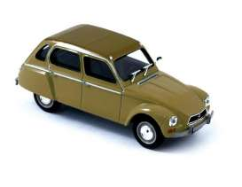 Citroen  - 1970 brown - 1:43 - Norev - 153717 - nor153717 | Toms Modelautos