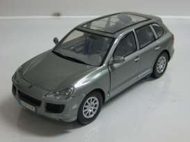 Porsche  - 2008 grey - 1:24 - Motor Max - 73344gy - mmax73344gy | Tom's Modelauto's