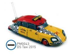Citroen  - DS 2015 yellow/red - 1:43 - Norev - pm0043 - norpm0043 | Tom's Modelauto's
