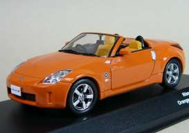 Nissan  - 2007 orange - 1:43 - J Collection - 13401op - jc13401op | Toms Modelautos