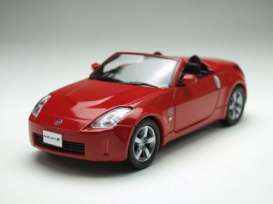Nissan  - Fairlady Z open 2007 red - 1:43 - J Collection - jc13402br | Tom's Modelauto's
