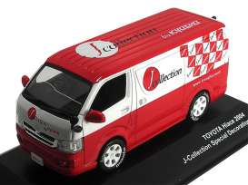 Toyota  - 2005 red/white - 1:43 - J Collection - jc36003jc | Tom's Modelauto's
