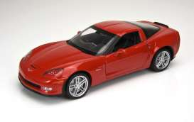 Chevrolet  - 2007 red - 1:24 - Welly - 22504r - welly22504r | Tom's Modelauto's