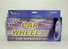 Rims & tires Wheels & tires - chrome - 1:18 - Wheels - 2006ch - wheels2006ch | Toms Modelautos