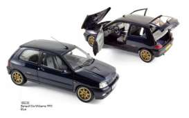 Renault  - 1993 blue - 1:18 - Norev - 185230 - nor185230 | Toms Modelautos