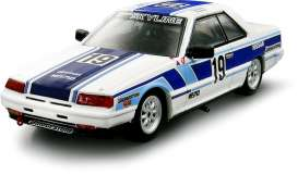 Nissan  - Skyline RS Turbo (R30) Gr.A 1985 blue/white - 1:43 - Kyosho - 3602D - kyo3602D | Tom's Modelauto's