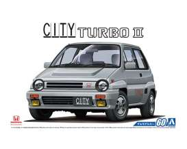 Honda  - City Turbo II  - 1:24 - Aoshima - abk154802 | Tom's Modelauto's