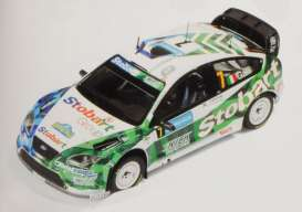 IXO Models - Ford  - ixram316 : Ford Focus RS07 WRC #7 3rd Sweden Rally 2008 Galli/Bernacchini