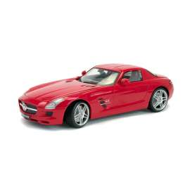 Mercedes Benz  - 2009 red - 1:18 - Mondo Motors - mondo50106r | Tom's Modelauto's