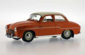 Syrena  - 1965 orange - 1:43 - Ixo Ist Collection - ixist065 | Tom's Modelauto's