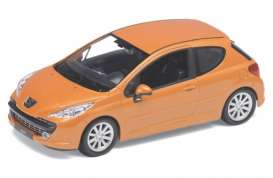Peugeot  - 2008 orange - 1:24 - Welly - 22492o - welly22492o | Toms Modelautos