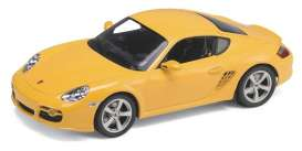 Porsche  - 2006 yellow - 1:24 - Welly - 22488y - welly22488y | Tom's Modelauto's