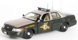 Ford  - 2007 green/silver-gold - 1:43 - First Response - fr2007-NH | Tom's Modelauto's