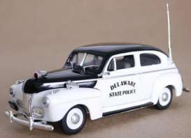 Ford  - 1941 black/white - 1:43 - First Response - fr1941-DE3 | Toms Modelautos