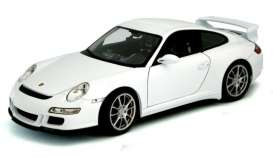 Porsche  - 2008 white - 1:18 - Welly - 18024w - welly18024w | Toms Modelautos
