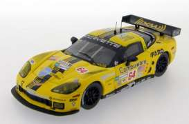Corvette  - 2008 yellow - 1:43 - IXO Models - ixlmm154 | Tom's Modelauto's