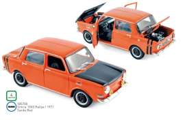 Simca  - 1000 1971 red-orange - 1:18 - Norev - 185700 - nor185700 | Toms Modelautos
