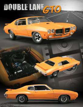 Pontiac  - orange - 1:18 - Acme Diecast - gmpg1801228 | Toms Modelautos