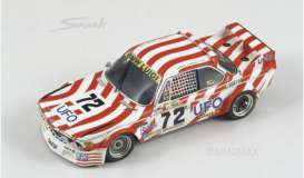BMW  - 1977 red/white - 1:43 - Spark - S1574 - spaS1574 | Tom's Modelauto's