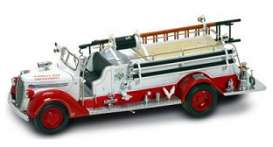 Ford  - 1938 white/red - 1:24 - Yatming - yat20058w | Toms Modelautos