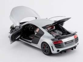 Audi  - 2008 ice silver - 1:18 - Kyosho - 9218IS - kyo9218IS | Toms Modelautos