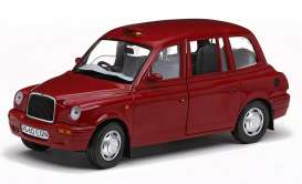 London TX Taxi Cab  - 1998 targa red - 1:18 - SunStar - sun1126 | Tom's Modelauto's