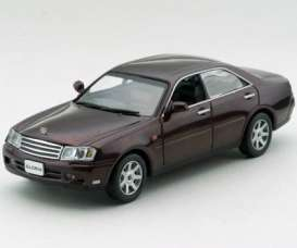 Nissan  - brown-red - 1:43 - J Collection - jc02005RD | Tom's Modelauto's