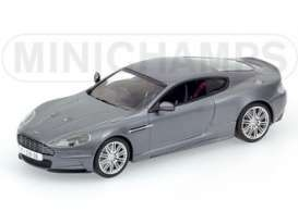 Aston Martin  - 2006 metallic grey - 1:64 - Minichamps - 640137620 - mc640137620 | Toms Modelautos