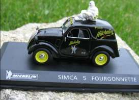 Simca  - black - 1:43 - Magazine Models - magMIsimca5 | Tom's Modelauto's