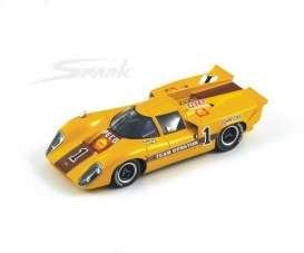 Lola  - 1969 yellow - 1:43 - Spark - s0316 - spas0316 | Tom's Modelauto's