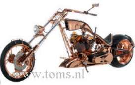 Orange County Choppers  - 2005 copper - 1:18 - ERTL - ertl79122 | Tom's Modelauto's