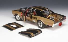 Plymouth  - 1966 gold/black - 1:18 - Highway 61 - hw50829 | Toms Modelautos