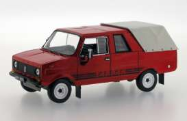 Tarpan  - 1976 red - 1:43 - Ixo Ist Collection - ixist111 | Toms Modelautos
