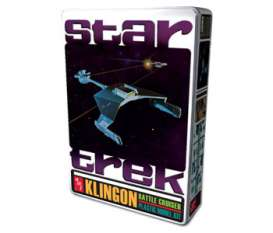AMT - Star Trek  - amts699 : 1/650 Star Trek Klingon Battlecruiser Collectors Tin, plastic modelkit