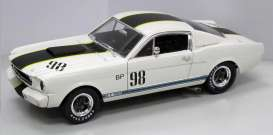 Shelby Ford - 1965 white/black - 1:18 - Shelby Collectibles - shelby362 | Toms Modelautos