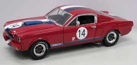 Shelby Ford - 1965 red/blue/white - 1:18 - Shelby Collectibles - shelby363 | Tom's Modelauto's