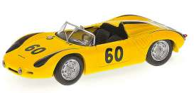 Porsche  - 1963 yellow - 1:43 - Minichamps - 430636560 - mc430636560 | Tom's Modelauto's