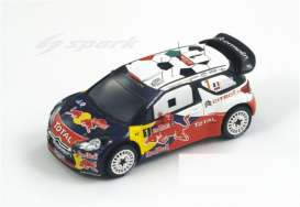 Citroen  - 2011 red/white/blue - 1:43 - Spark - S3306 - spaS3306 | Tom's Modelauto's
