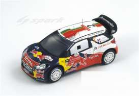 Citroen  - 2011 red/white/blue - 1:43 - Spark - S3307 - spaS3307 | Tom's Modelauto's