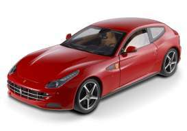 Hotwheels - Ferrari  - hwmvX5524 : 2011 Ferrari FF four-seater GT with a V12 Cylinder front engine *Heritage Series*, red