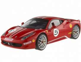 Ferrari  - 2011 red - 1:43 - Hotwheels Elite - hwmvx5504 | Tom's Modelauto's