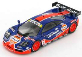 McLaren  - 1996 dark blue/orange - 1:43 - IXO Models - KB1010 - IXKB1010 | Tom's Modelauto's