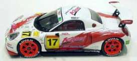 Toyota  - 2002 white/red/orange - 1:43 - Ebbro - ebb43372 | Tom's Modelauto's