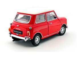 Morris Mini - 1967 red - 1:18 - Kyosho - 8108R - kyo8108R | Tom's Modelauto's