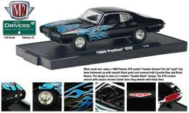 Pontiac  - 1969 black/blue - 1:64 - M2 Machines - M2-11228-12-3 | Tom's Modelauto's