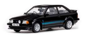 Ford  - Escort RS Turbo 1984 black - 1:18 - SunStar - 4962R - sun4962R | Tom's Modelauto's