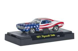 Shelby  - 1965 red/white/blue - 1:64 - M2 Machines - m2-31500-P01-3 | Tom's Modelauto's