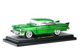 Chevrolet  - 1957 candy green - 1:24 - M2 Machines - M2-40200-24B | Tom's Modelauto's